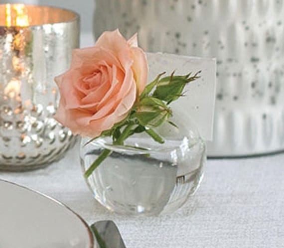 8 Bud Vases Place Card Holders Wedding Favors Bud Vases Etsy