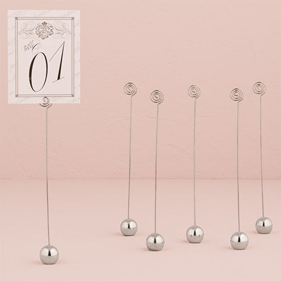 Wedding Number Holders, Table Number Holders, Parties and Special Events Use in Floral Arrangements, for Menus or to Display Photos