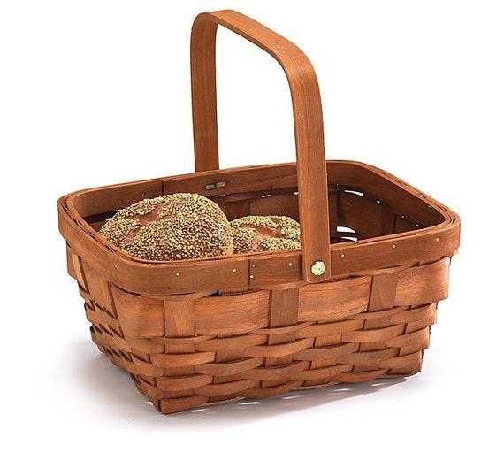 Wood Basket, Floral Planter Basket, Floral Basket, Basket for Gifts, Party Baskets