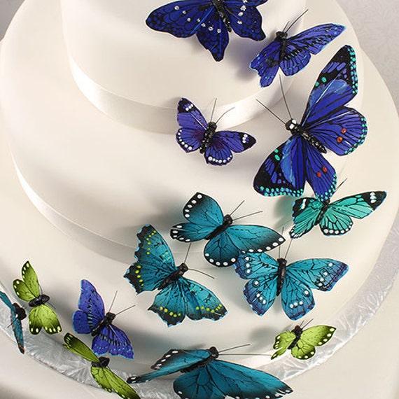 Craft Butterflies, Wedding Butterflies, Wedding Cake Butterflies, Home Decor,  Butterfly Picks, Wedding Centerpiece Butterflies, Cake Picks