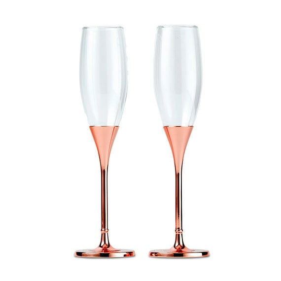 Wedding Reception Toasting Glasses, Bride and Groom Champagne Flutes, Wedding Champagne Ceremony Toasting Glasses