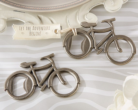 Wedding Party Favors, Bicycle Bottle Opener Favors, Bottle Opener Party Favors, Practical Favors,  Guest Favors, Bicycle Favors