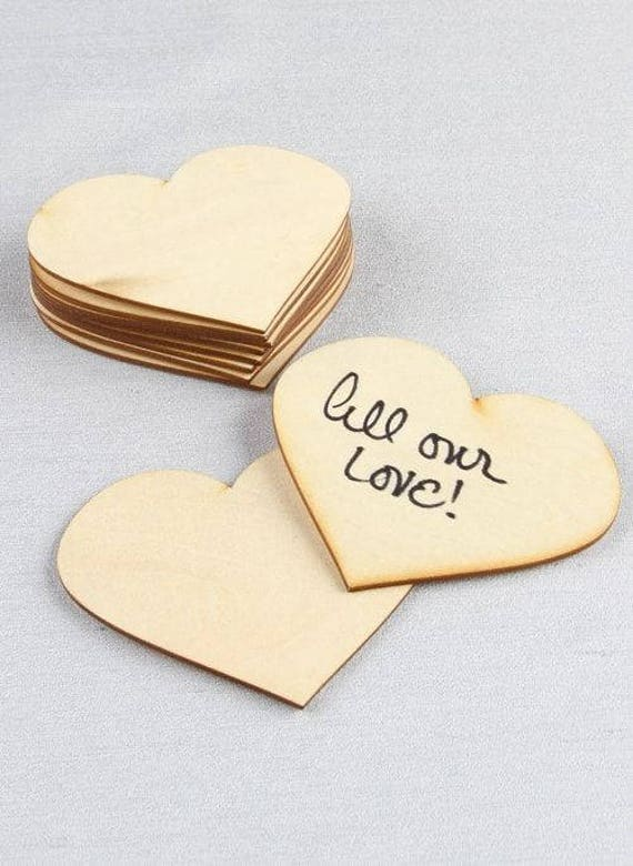 Wooden Hearts, Wedding Hearts, Craft Hearts, Signing Hearts,Place Card Hearts, Craft Hearts, Wood Hearts