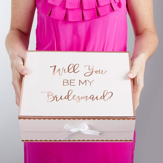 Bridesmaids Proposal Gift Box, Gift Box Will You Be My Bridesmaid, Bridesmaids Gift Boxes, Bridal Party Gift Box