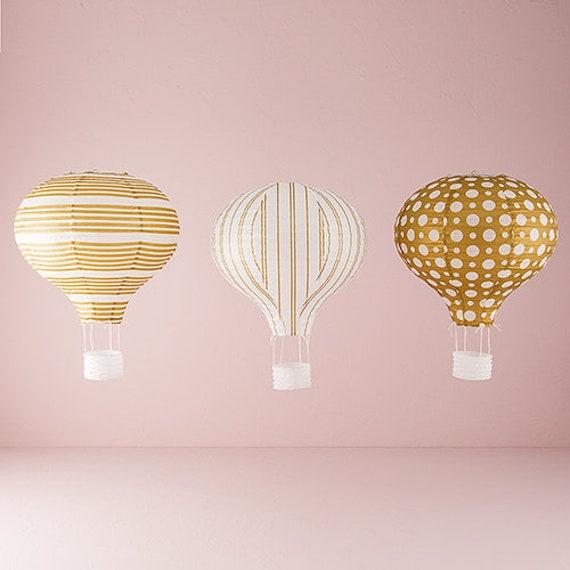 Hot Air Balloon Lanterns Paper Lanterns Wedding Lanterns Etsy