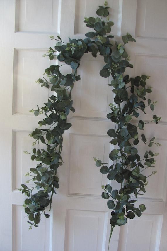 Wedding Craft Garland, Eucalyptus Garland, Artificial Eucalyptus, Craft Supplies, Garlands, Floral Supplies, Hair Craft Leaves