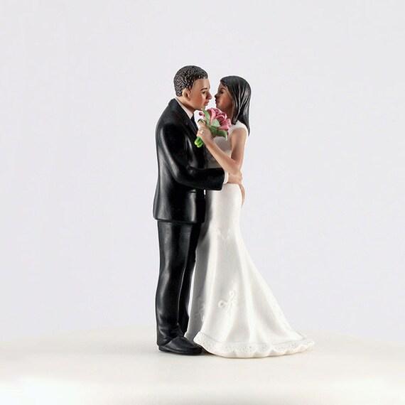 Bride and Groom Wedding Cake Top, Main Squeeze Wedding Cake Topper, Wedding Cake Top Decoration, Bride with Groom Cake Top Playful Squeeze