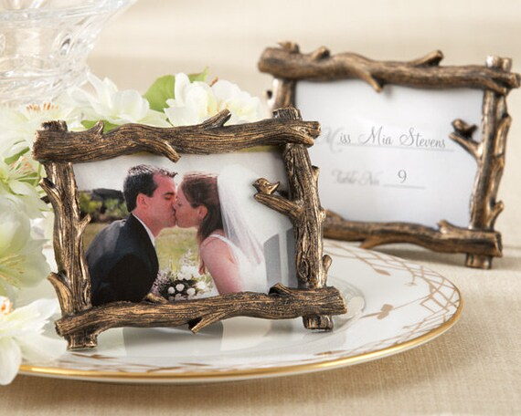 Wedding Place Card Holders, Branch Placecard Holder, Wedding Favors Photo Holders, Name Card Holder, Photo Frame Holder, Place Card Frame