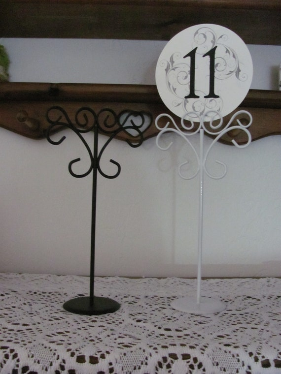 Wedding Table Number Stands, Party Sign Holders, Event Table Number Holders, Stationery Sign Holder