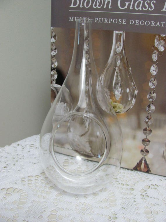 Hanging Vases Wedding Vases Glass Ornaments Hanging Glass Etsy