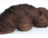 Yarn Merino Wool Brown Ha...