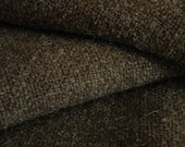 Wool Blanket Handwoven Natural Colour Handwoven Brown Rominey Classic Wool non-superwash classic Canadian wool handwoven in BC natural brown