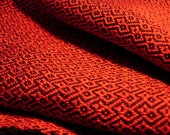 Handwoven Tencel scarf Or...