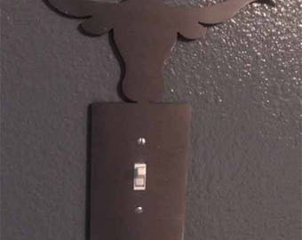 Long Horn Light Switch Cover