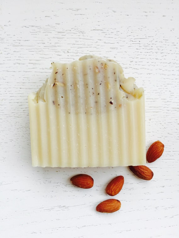 Cherry Almond Handmade Soap - Coconut Milk Soap - Natural Soap - Vegan Soap - homemade soap