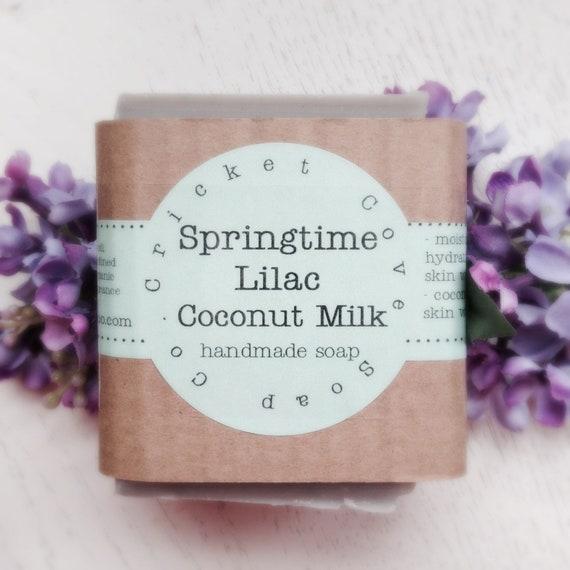 SOAP - Lilac - Springtime Lilac Handmade Soap - Vegan - Cold Process - Spring