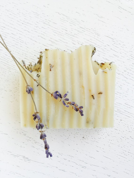 LAVENDER SOAP - French Lavender Organic Coconut Milk - Homemade Soap - Lavender - Vegan - All Natural Lavender Soap - Mother's Day