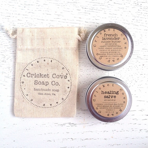 RESERVED FOR DANI - Cuticle Butter - Healing Salve - Gift Set