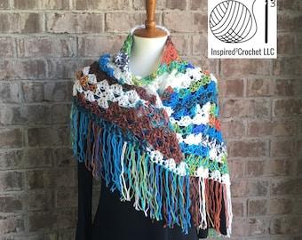Handmade Triangle Neck Scarf - Shawl - Peruvian Dreams