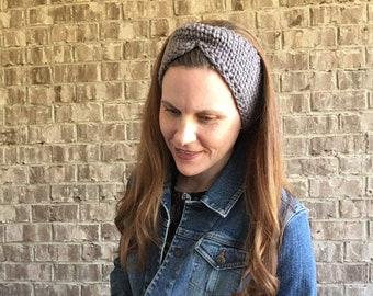 Ear Warmer Headband ~ The Quincy Crochet headband