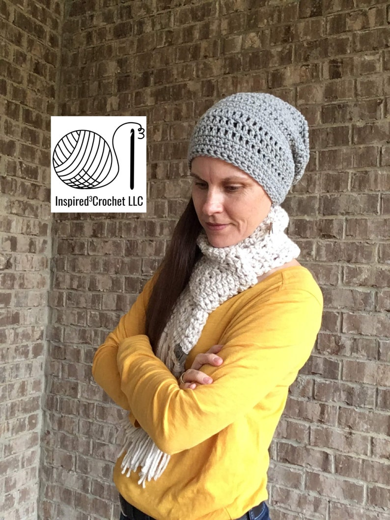 Slouchy Beanie Hat  The Kate Slouchy Hat  unisex  one size image 0