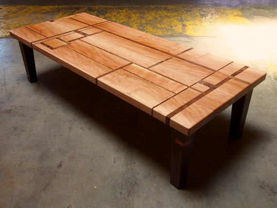 Coffee Table Fine Woodworking Artistic Furniture Etsy