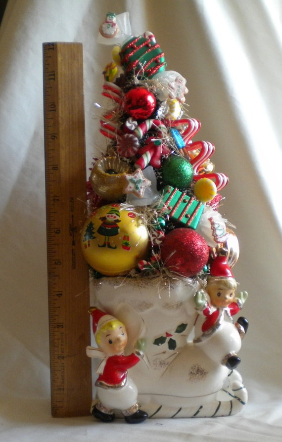 Christmas Sale Price Unique Christmas Gift Vintage Elf Candy Etsy