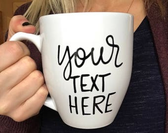 Imperfect mug, custom mug, personalized mug, mug with imperfections, custom order mug, sale mug, beauty mark mug, design your own mug