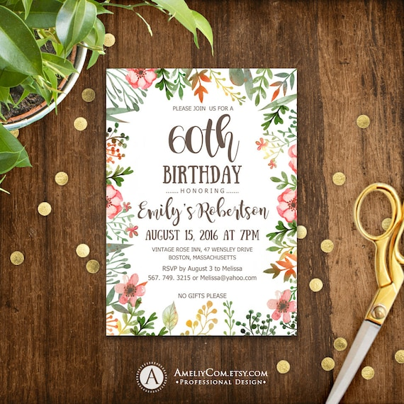 fall surprise birthday invitations printable instant download etsy