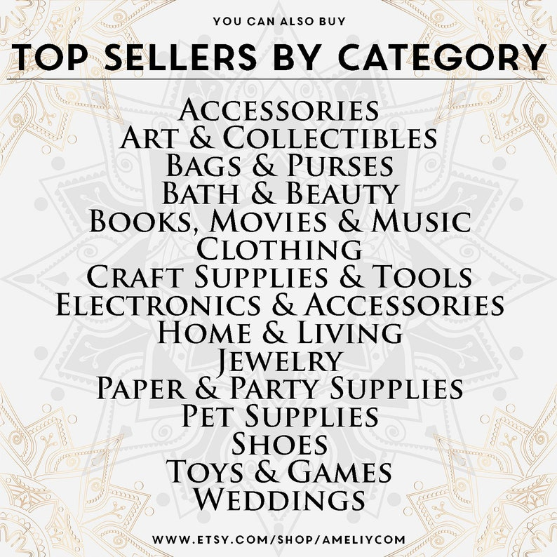 64a4927c4d08e Top Etsy SELLERS - Top selling shops - What to sell in 2019 Most popular  stores, Etsy Best selling shops, Top etsy shops, best selling 2019