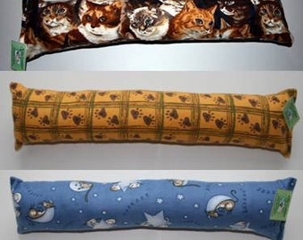 Kitty Cuddler Catnip Toy and Body Pillow, Flannel