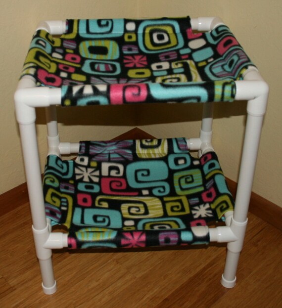 Lower Price Pop Art Fleece Pet Bunk Bed Or 2 Tier Condo Etsy