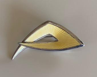 Vintage 60s A.SCH Sterling Enamel Pin