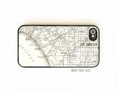 iPhone 4 Case. iPhone 4S Case. Vintage LA Pacific Map. California. Phone Case. Phone Cases. iPhone 4S Cases.