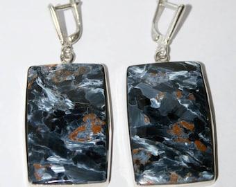 Pietersite earrings,FREE SHIPPING