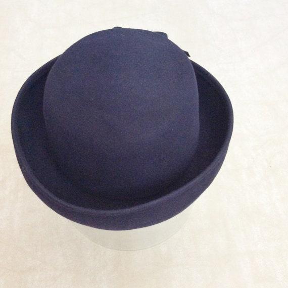 Vintage Wide Brim Hat - image 1