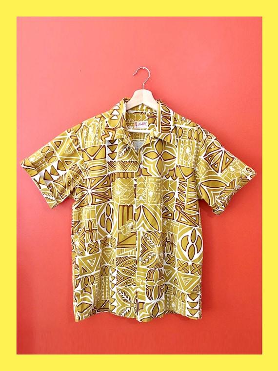 1970s Aloha Shirt