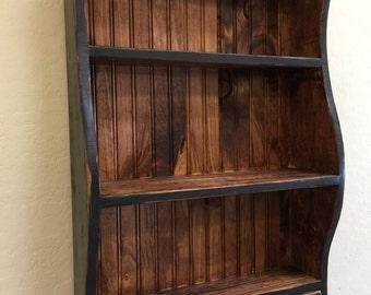primitive wall shelf whale shelf primitive whale shelf hanging book shelf colonial wall shelfantique style wall shelf distressed shelf - Distressed Bookshelves