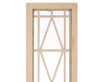 Prairie Diamond Dollhouse Window by Alessio