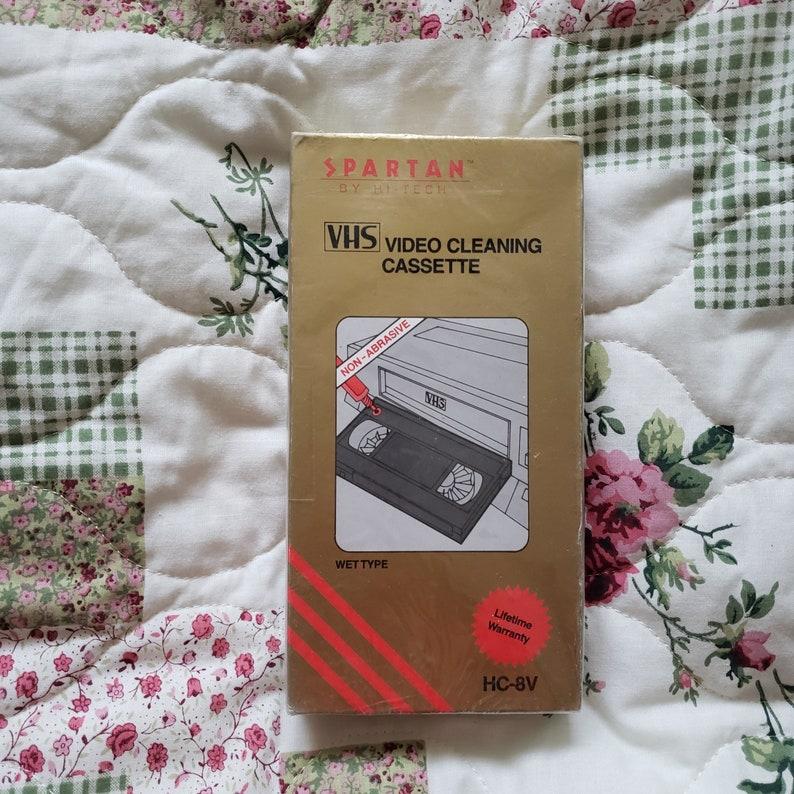 Spartan HC-8V VCR VHS Player Head Cleaner Tape Cassette New Sealed