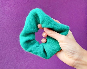 Recycled Cashmere Scrunchy