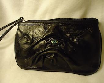 Leather Purse Goth Handbag OOAK Womans Gift