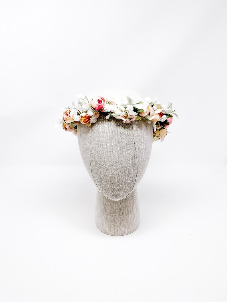 Engagement Photos 1st Communion Flower Crown Bridal Flower Crown Flower Crown Flower Girl Style: MANDY