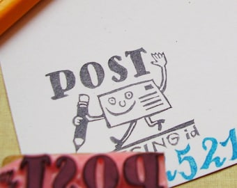 postcrossing stamp for ID