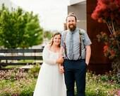 SALE Curve & Plus size Ivory Wedding , Off-The-Shoulder Lace and Train Tulle dress,  Bohemian Plus size Wedding Dress 1162