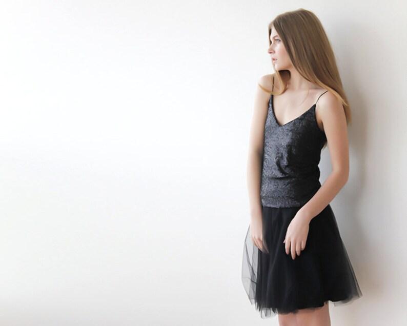 cbc388070788 Tulle mini black skirt Mini black skirt Tutu black skirt | Etsy