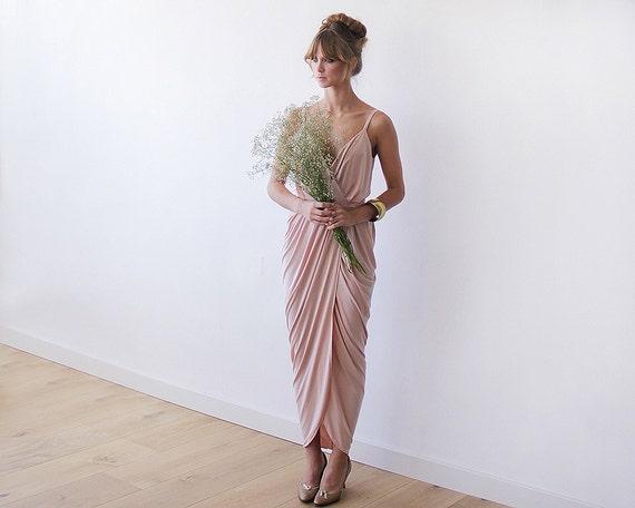 Pink Dress Bridesmaids Mini Wrap 1108 Blush gvdqZBwq