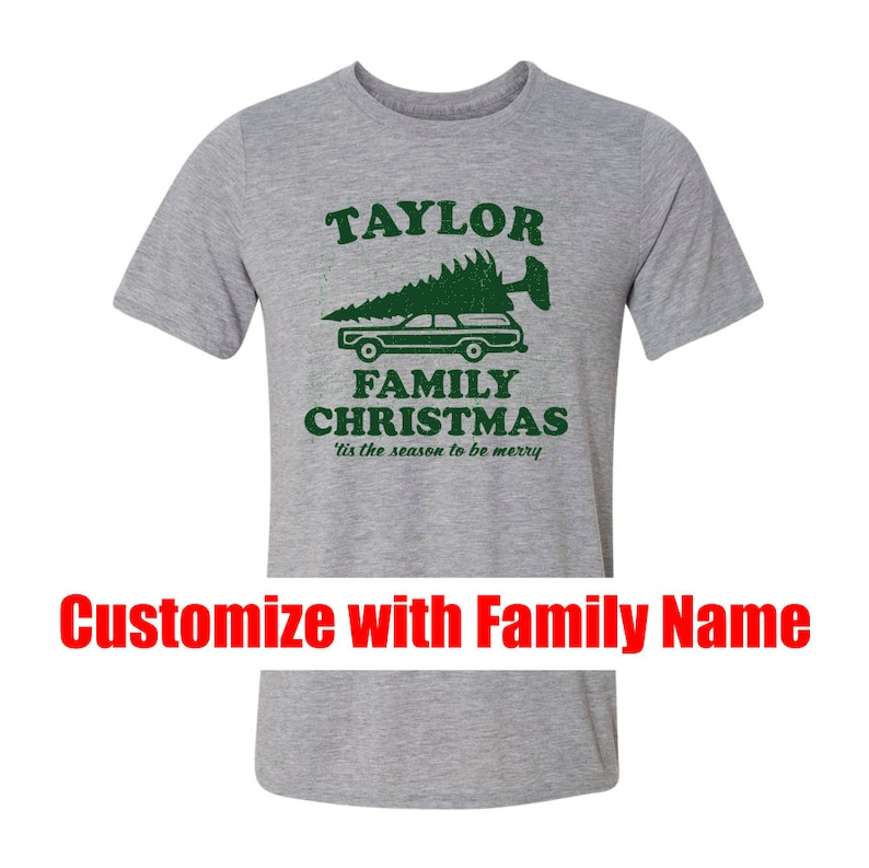 280e0722f5b Christmas Vacation Griswold Family CUSTOM t-shirt Custom