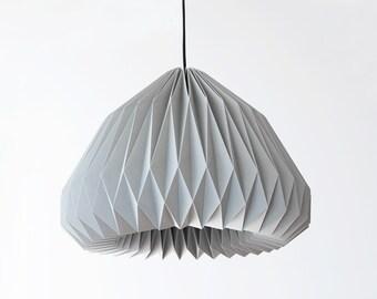 SPHERICA /// GREY - origami lampshade
