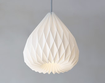SNOWDROP Origami paper lampshade
